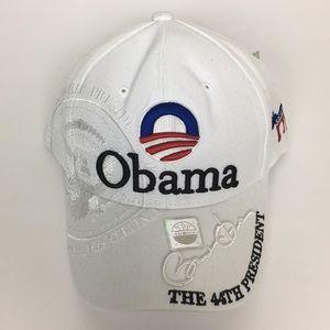 BARACK OBAMA THE 44TH PRESIDENT HAT ADJUSTABLE CAP